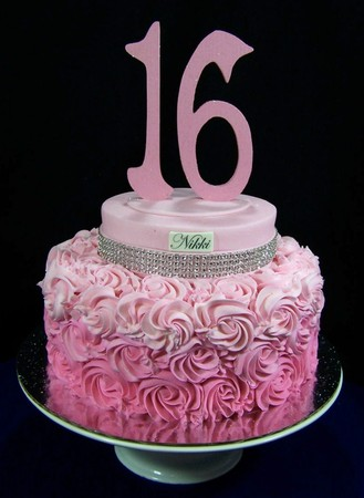 16th birthday cakes