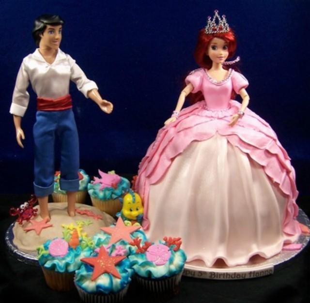 Doll Princess Cake Areil